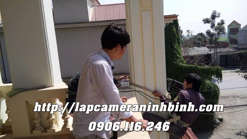Lap camera Ninh Binh - Lap camera cho dinh thu biet thu o Ninh Binh (2)