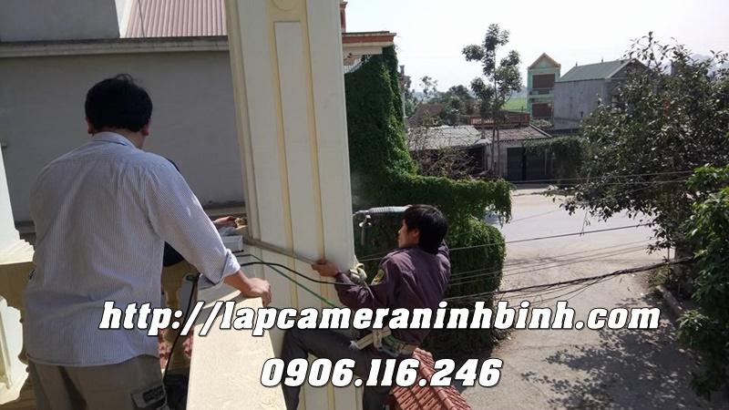 Lap camera tai Ninh Binh