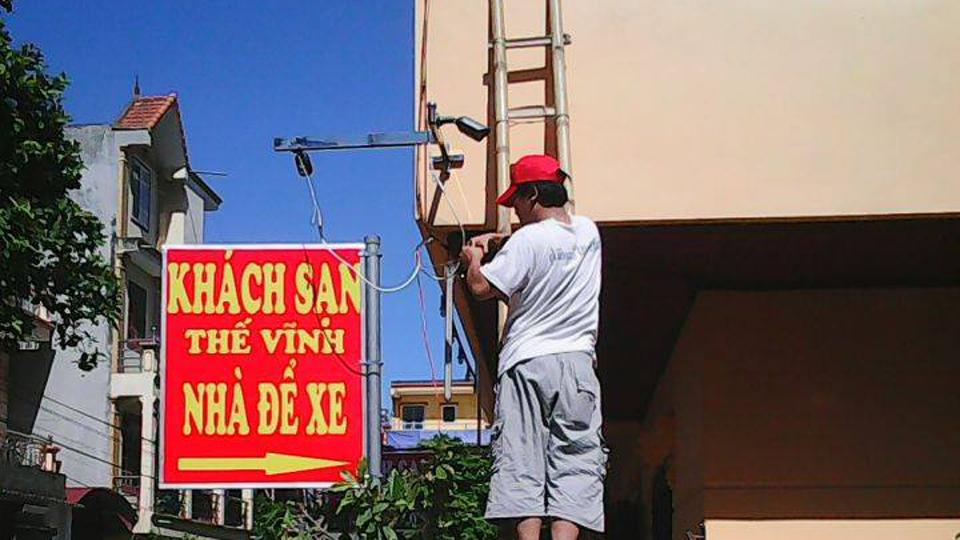 Lắp camera cho khách sạn Thế Vĩnh – Ninh Bình