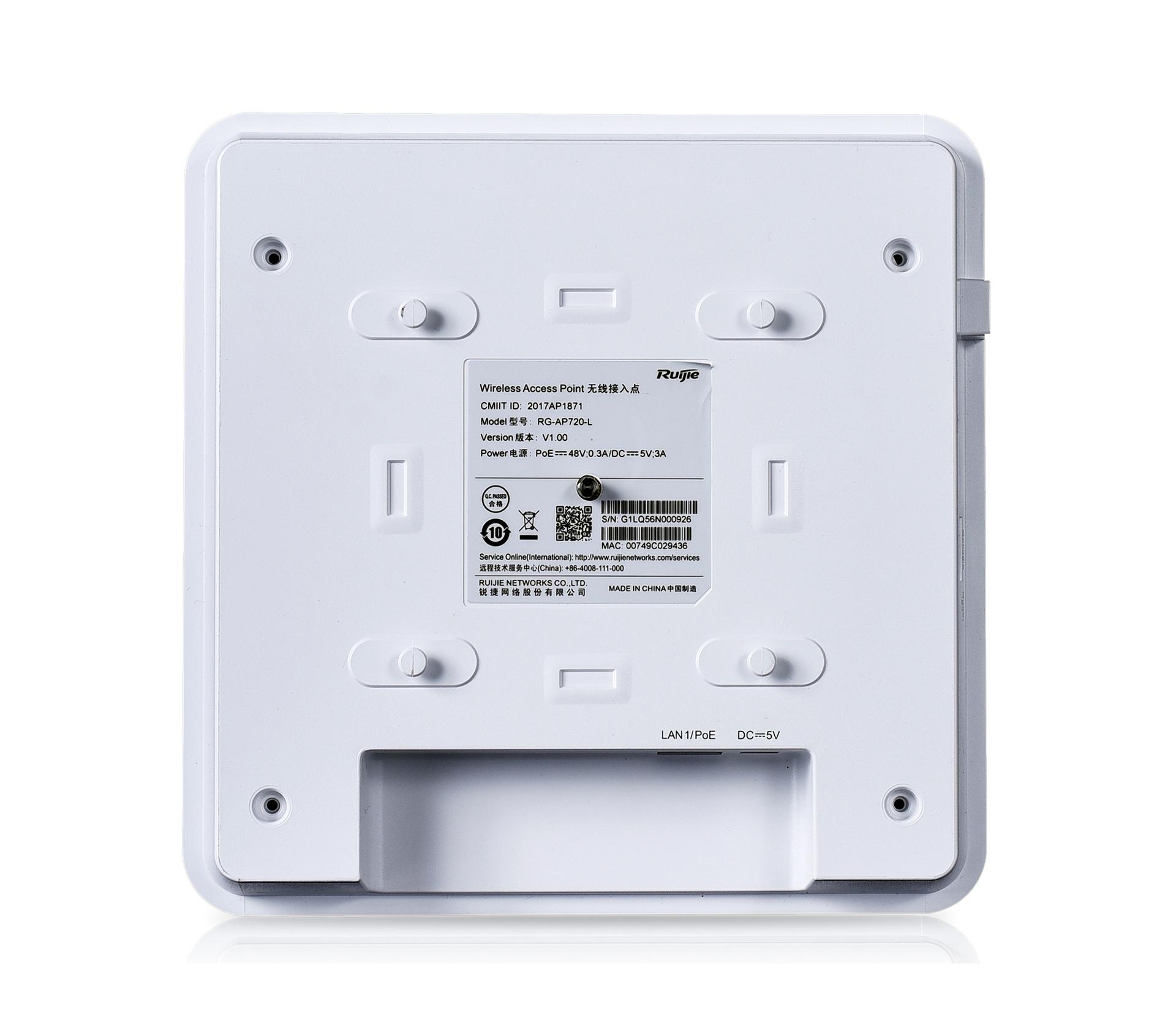 Bộ phát Wi-Fi – Trong nhà – Gắn tường RG-AP720-L